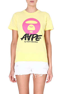 AAPE Moonface printed t-shirt