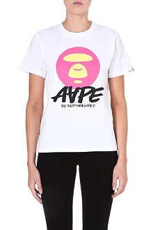AAPE Moonface printed t-shirt