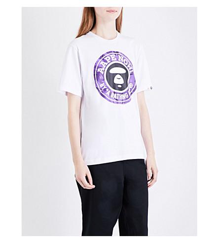 AAPE Ape cotton T-shirt (Whx