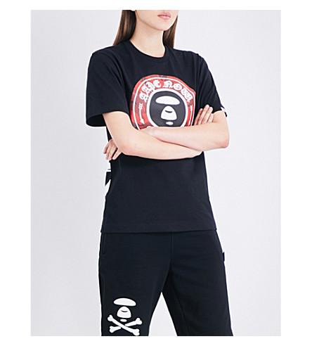AAPE Theme cotton-jersey T-shirt (Bkx