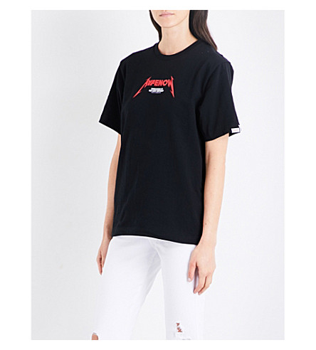 AAPE Neo Rock cotton-jersey T-shirt (Bkx