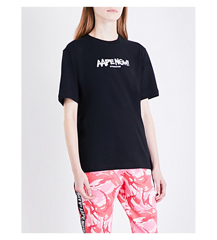 AAPE Weekend cotton T-shirt (Bkx