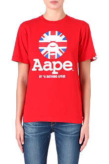 AAPE I.T Union Jack t-shirt