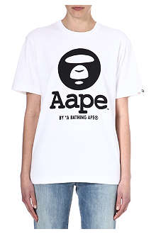 AAPE I.T cotton print t-shirt