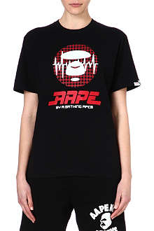 AAPE Cotton printed t-shirt