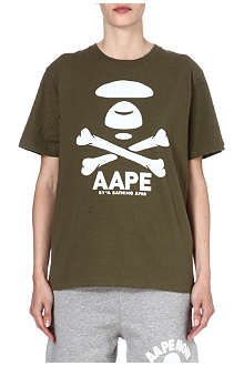 AAPE I.T cotton printed t-shirt