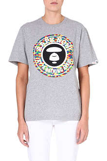 AAPE Printed logo t-shirt