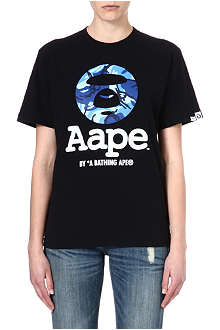 AAPE I.T Moon Face t-shirt