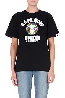 AAPE Logo printed t-shirt