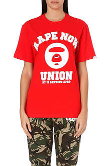 AAPE I.T Logo cotton t-shirt