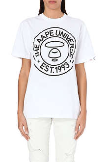 AAPE I.T Linear stamp print t-shirt
