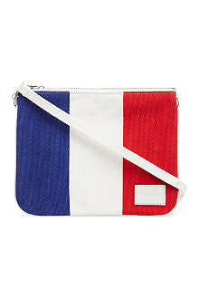 CHOCOOLATE French flag canvas clutch