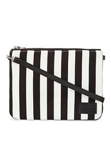 CHOCOOLATE I.T. striped clutch bag
