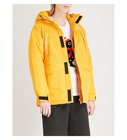 CHOCOOLATE Padded shell jacket (Yellow