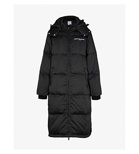 CHOCOOLATE Padded shell coat (Black