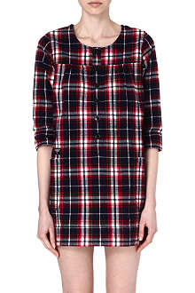 CHOCOOLATE I.T. Check flannel dress