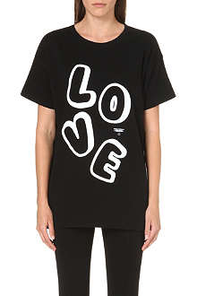 CHOCOOLATE Love print cotton t-shirt