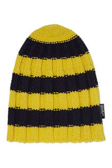 CHOCOOLATE I.T striped beanie