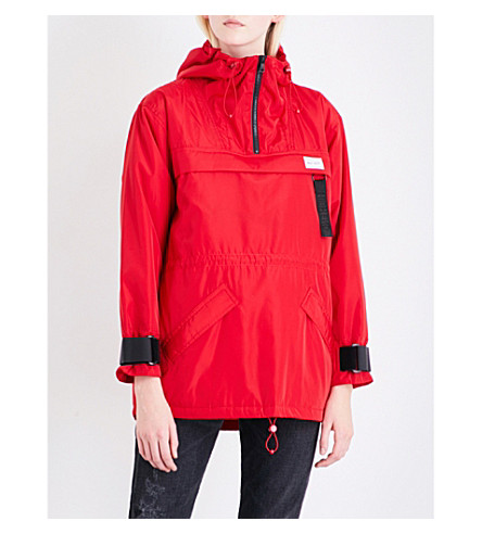 CHOCOOLATE Hooded shell jacket (Red