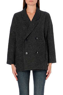 CHOCOOLATE I.T. tweed peacoat