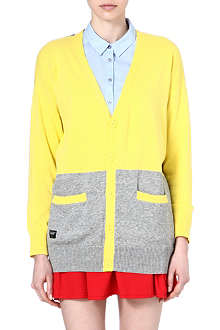 CHOCOOLATE I.T colour block cardigan