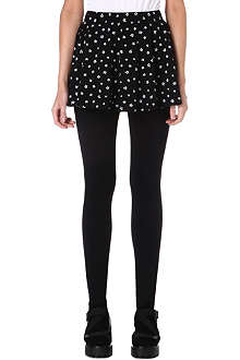 CHOCOOLATE I.T. leggings with star print skirt