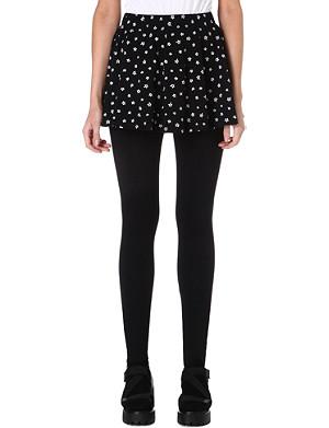 CHOCOOLATE I.T. leggings with star print skirt