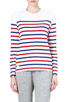 CHOCOOLATE I.T long-sleeve stripe t-shirt