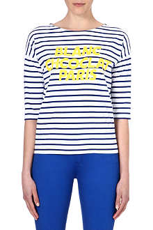 CHOCOOLATE I.T Paris striped top