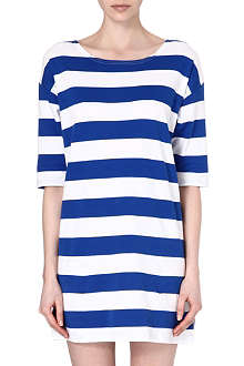 CHOCOOLATE I.T. Striped tunic dress