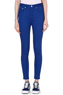 CHOCOOLATE I.T. Stretch-cotton skinny jeans