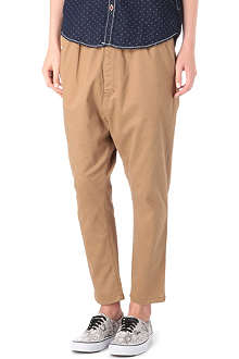CHOCOOLATE I.T low crotch trousers