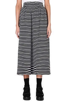 CHOCOOLATE I.T. striped long cotton skirt