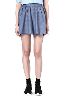 CHOCOOLATE I.T chambray skirt