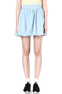 CHOCOOLATE I.T denim skater skirt