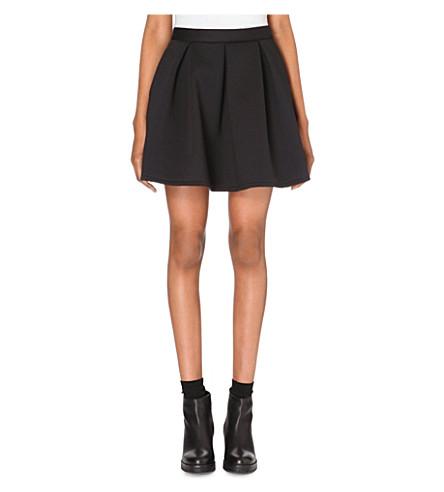 CHOCOOLATE Neoprene skirt (Black