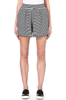 CHOCOOLATE I.T striped shorts