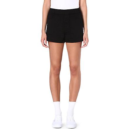 CHOCOOLATE Five-pocket shorts (Black