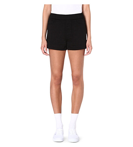 CHOCOOLATE Five-pocket shorts (Black