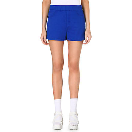 CHOCOOLATE Branded pocket shorts (Royalblue