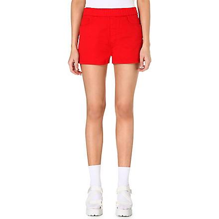 CHOCOOLATE Branded pocket shorts (Red