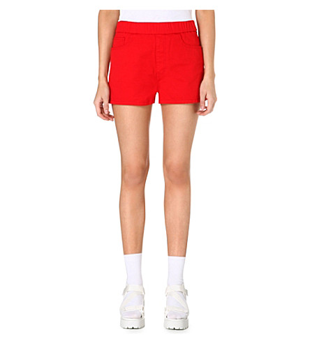 CHOCOOLATE Branded pocket shorts (Red