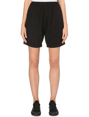 CHOCOOLATE Mid-rise shorts