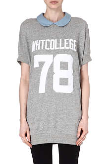 CHOCOOLATE I.T. White College 78 sweatshirt