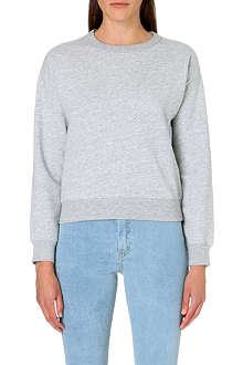 CHOCOOLATE I.T Long-sleeved cotton-blend sweatshirt