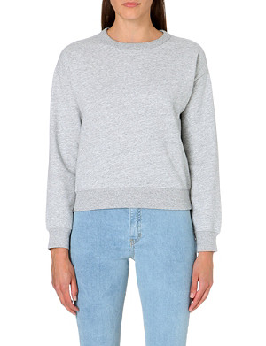 CHOCOOLATE I.T Long-sleeved cotton-blend sweatshirt