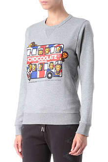 CHOCOOLATE I.T London Bus sweatshirt
