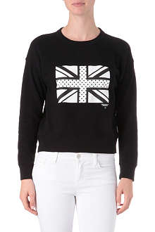CHOCOOLATE I.T Union Jack sweatshirt