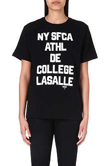 CHOCOOLATE College print t-shirt