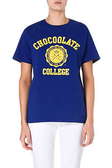 CHOCOOLATE College logo t-shirt